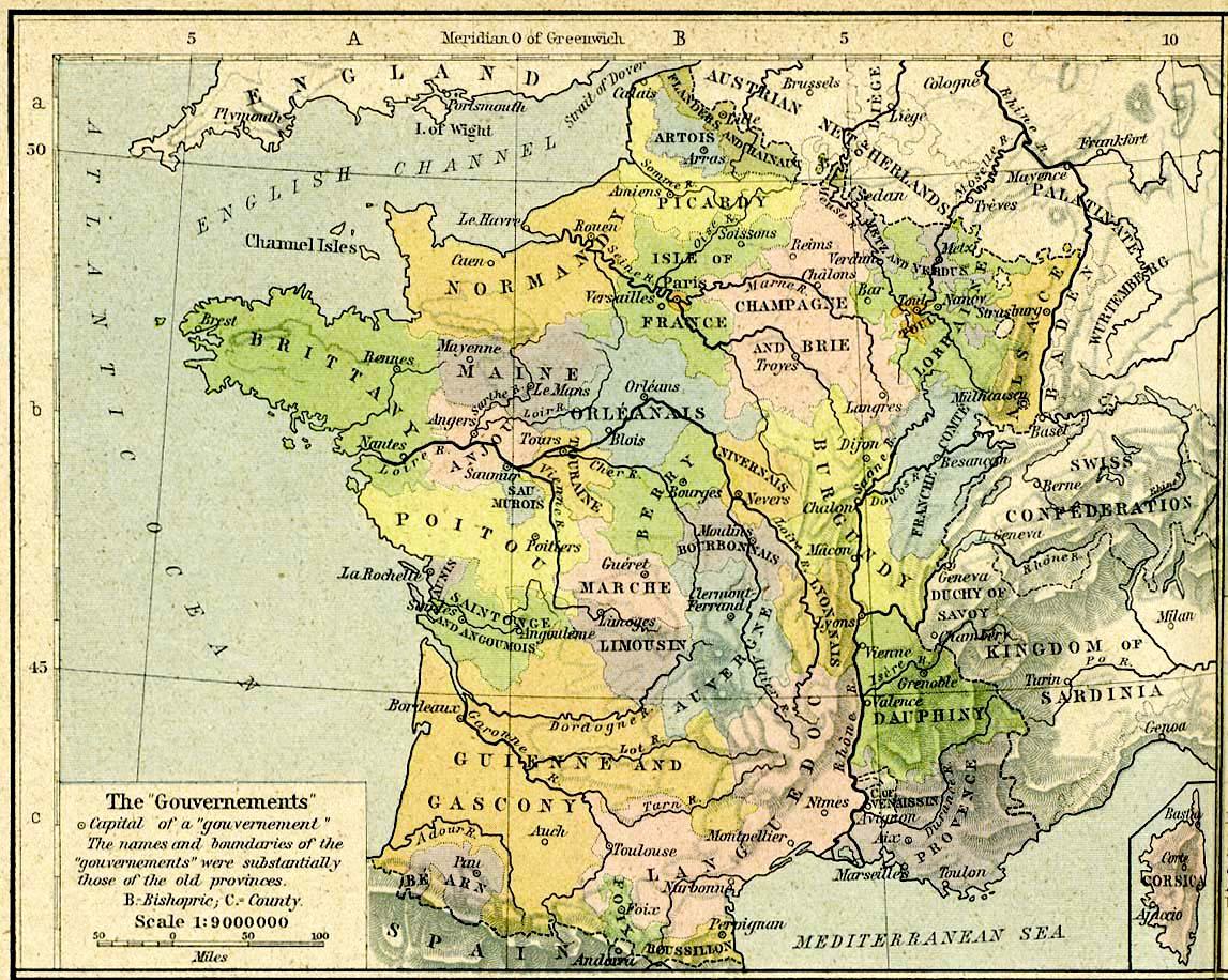 anciennes provinces france