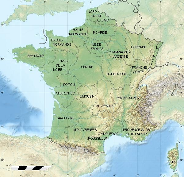 fond carte anciennes regions