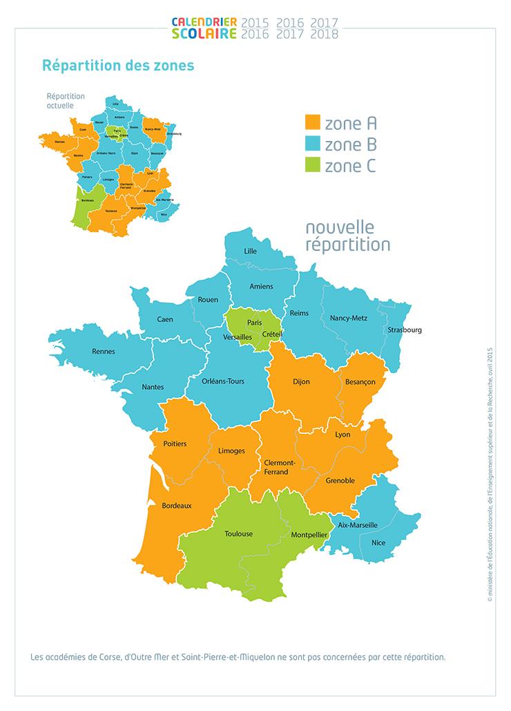 carte régions
