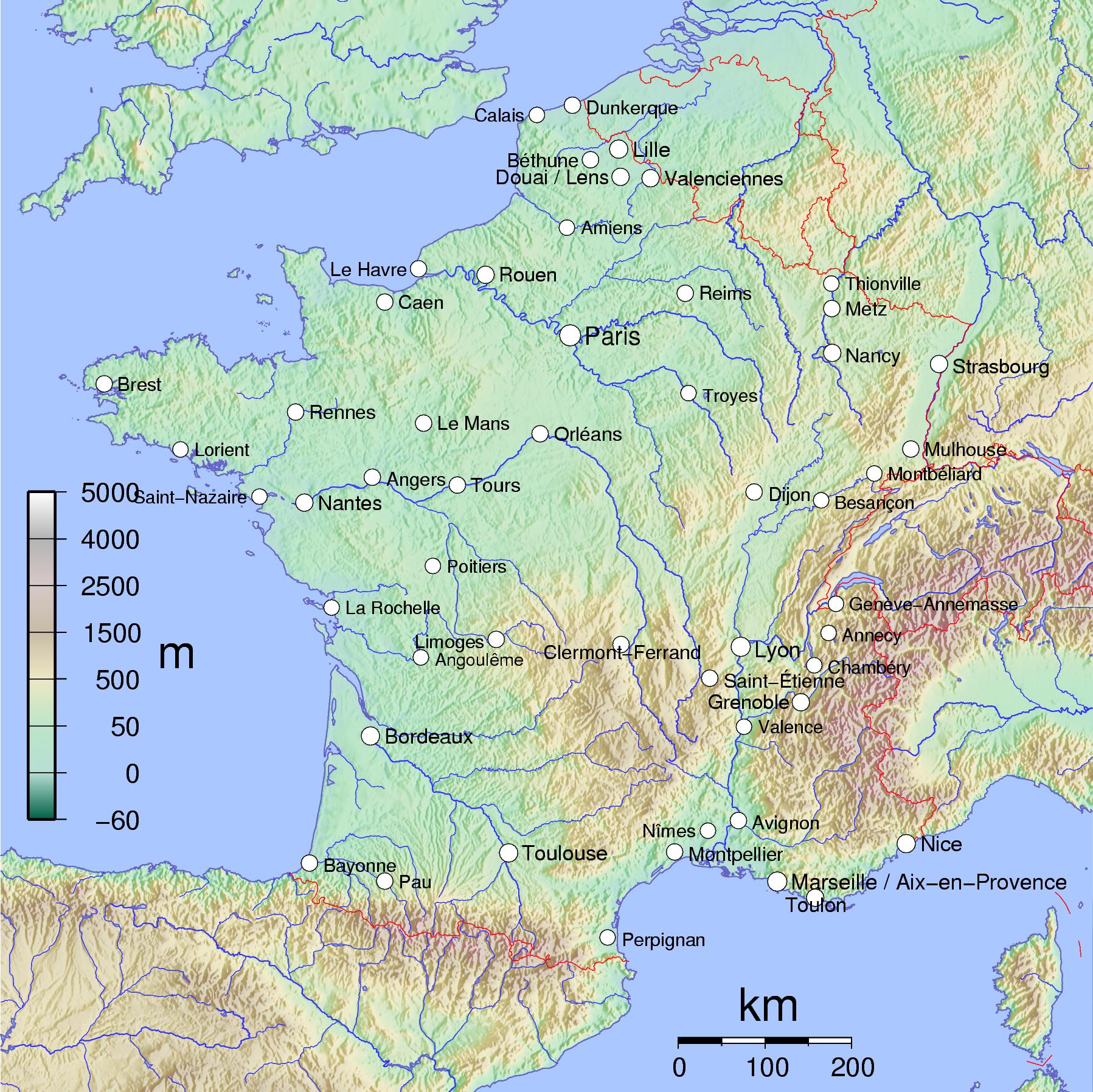 Liste Des  Plus Grandes Villes De France