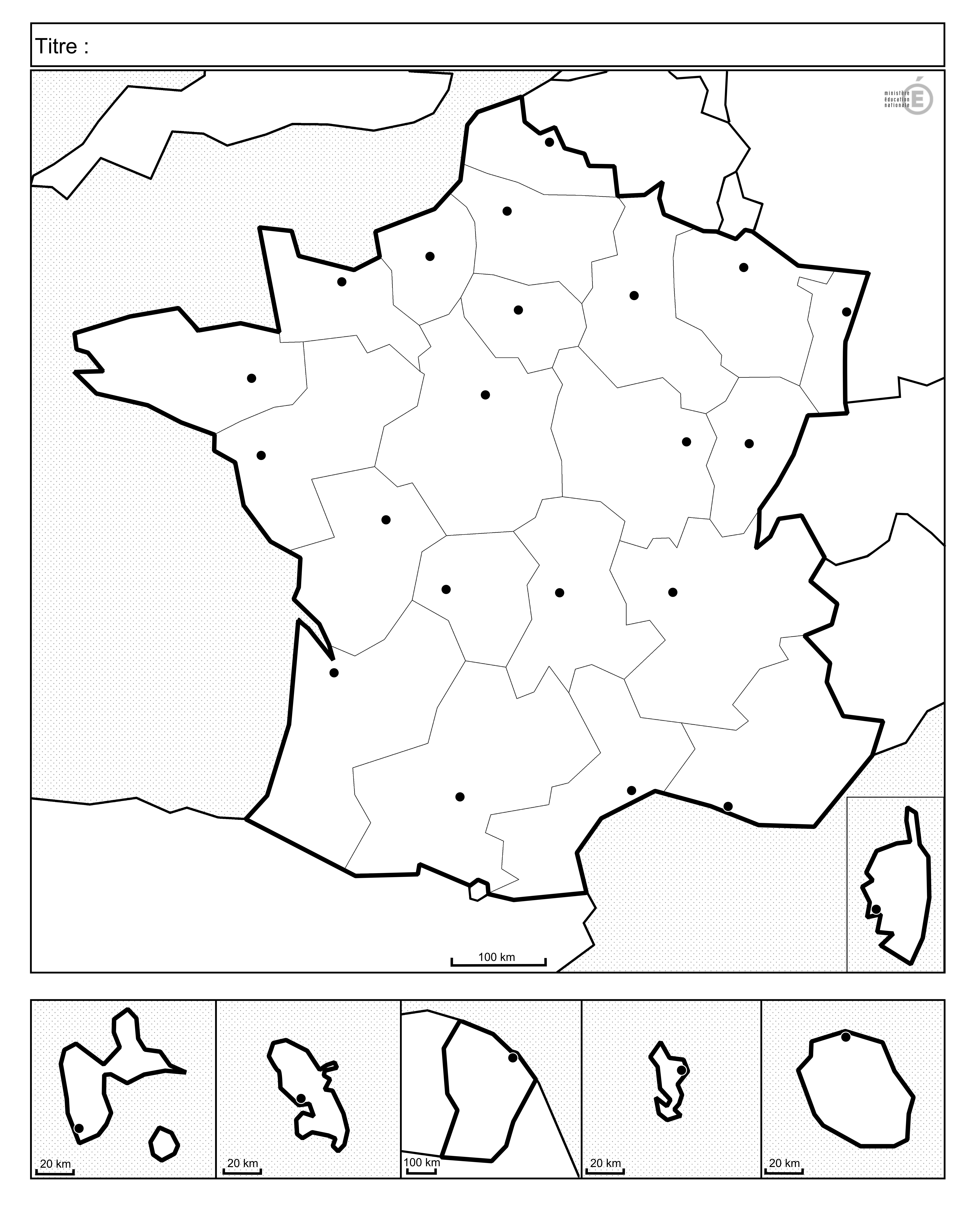 Fonds De Cartes De France Et Quiz