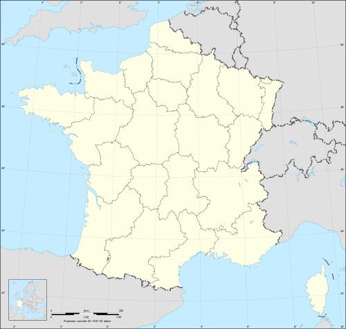 Fond de carte France régions