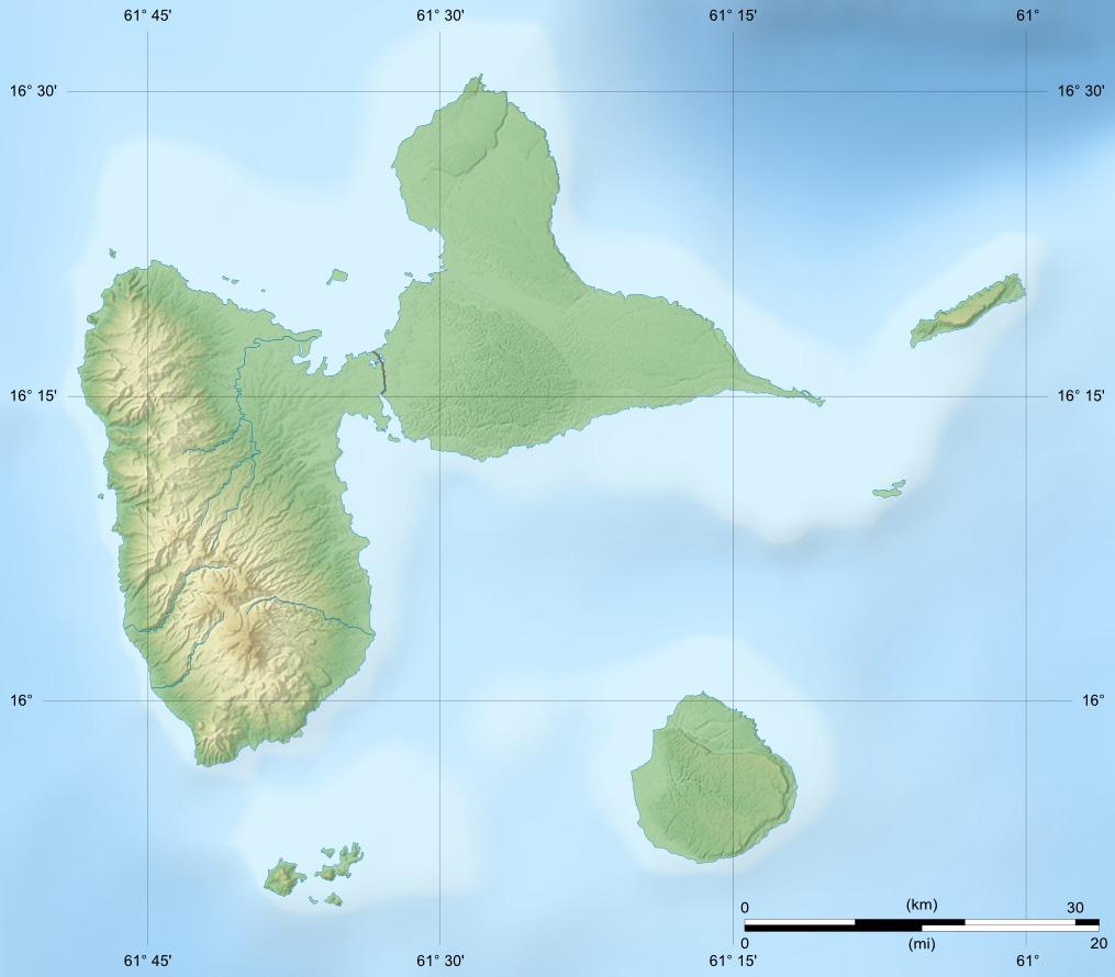 fleuves rivières Guadeloupe